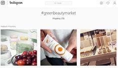 Instagram - hashtag greenbeautymarket