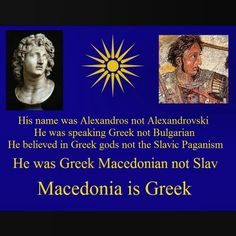 Macedonia Is Greek. Alexandre Le Grand, Macedonia Greece, Greek History, Laugh At Yourself, Alexander The Great, Knowledge Is Power, Thessaloniki, Greek Gods