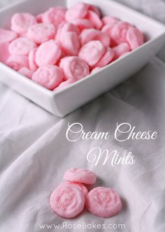 Cream Cheese Mints Recipe and easy how-to!