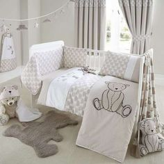 Archie Bear Nursery Collection | Dunelm