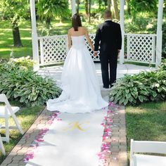 Personalized Wedding Aisle Runner