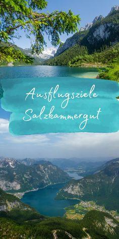 Die Ferienregion Dachstein-Salzkammergut erstreckt sich von Bad Goisern über Gosau und Hallstatt nach Obertraun. Das Salzkammergut ist sehr durch den Tourismus geprägt und zählt dementsprechend auch zu den touristisch am besten erschlossenen Gebieten in ganz Österreich. Ich habe mir knapp 4 Tage die Region ein bisschen genauer angeschaut und zeige dir jetzt meine Auswahl der schönsten Orte in der Natur und Sehenswürdigkeiten im Dachstein-Salzkammergut. Hallstatt, Hotels, Reisen In Europa, Travel Tips, Mountains, Bad, Nature, Tourism, Road Trip Destinations