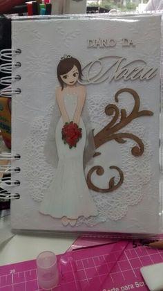 Agenda da noiva Planner, Journal Covers, Diy, Bullet Journal, Tags, Cartonnage, Engagement, Craft, Magazine Covers