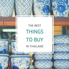 Ready to shop? Thailand has designer goods, silks, antiques, snacks, souvenirs – and $2 T-shirts galore. Here are the best things to buy in Thailand...