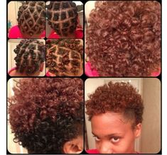 Pretty turnout for various Bantu knots on natural hair