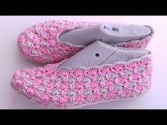 Diy Crafts Knitting, Diy Crafts Crochet, Free Knitting, Knitting Patterns, Crochet Patterns, Craft Free, Slipper Boots, Crochet Slippers, Crochet For Beginners