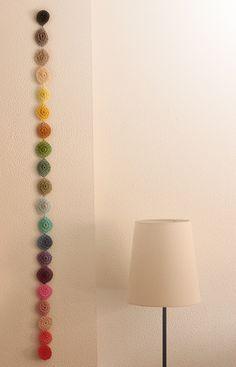 rainbow garland/mobile