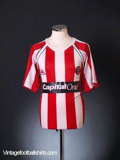 2006-07 Sheffield United Home Shirt S