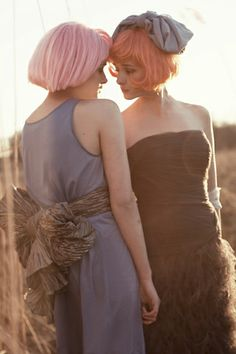 Gigi & Irena for Material Girl Magazine by Lara Jade.