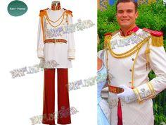 Disney Cinderella Cosplay Prince Charming Costume Set