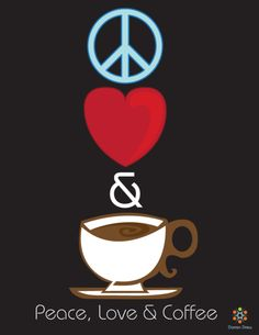 Peace, love and coffee is all you need! #MrCoffee