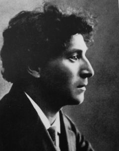 Artist Marc Chagall in 1912, photographer unknown