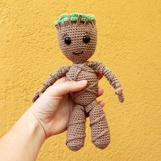 Baby Groot Soft Toys. Amigurumi Pattern PDF Guardians Of
