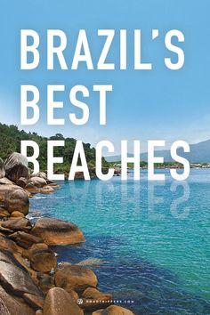 Yes, please! Brazil's Beaches.  As praias de Brasil. --preciso ler! #Brazil