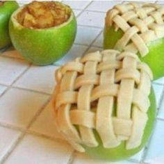 Apple Pie Baked in Apple - Four Seasons RecipesFour Seasons Recipes