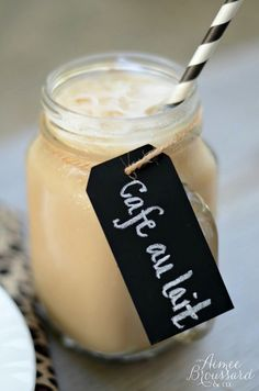 Iced Cafe au Lait ~