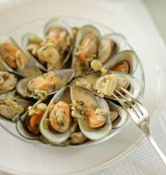 Steamed Mussels with Mustard and Ouzo