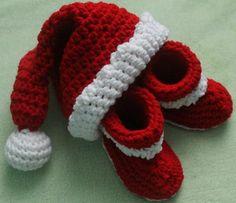 Baby Santa Gift Set