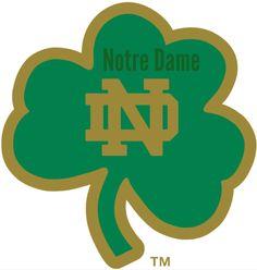 Notre Dame Stencil Notre Dame Logo Tshirt Makers