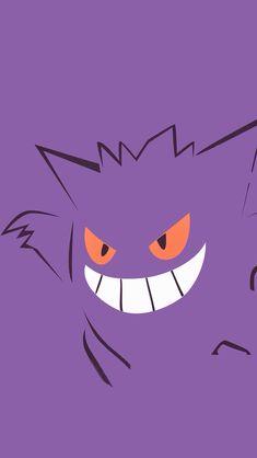 ↑↑TAP AND GET THE FREE APP! Art Creative Cartoon Pokemon Minamalistic Violet HD iPhone Wallpaper