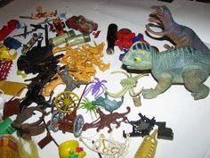 large lot of assorted vintage toys brain teasers game pieces stress balls Disney Vintage Shoes, Vintage Bags, Brain Teaser Games, Game Pieces, Brain Teasers, Bowser, Fashion Shoes, Dinosaur Stuffed Animal, Collectible Toys