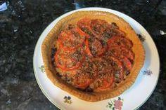Receta de tarta de tomate con a Cooking Chef de Kenwood