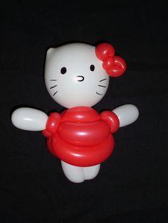 Hello Kitty 1 Globoflexia Balloon Alfonso V http://magomadrid.es