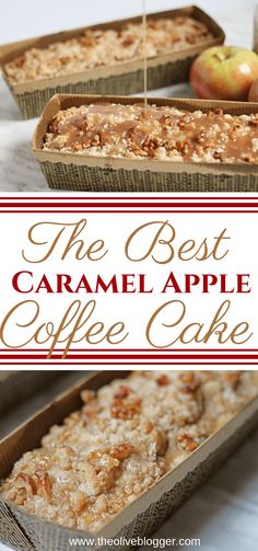 Best Coffee Cake Recipe – This Caramel Apple Coffee Cake is everything we love about Fall baking! Best Coffee Cake Recipe – This Caramel Apple Coffee Cake is everything we love about Fall baking! Food Cakes, Cupcake Cakes, Muffin Cupcake, Cupcakes, Best Coffee Cake Recipe, Coffee Recipes, Baking Recipes, Dessert Recipes, Autumn Recipes Baking