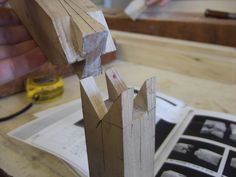 Japanese splicing wood joint exhibit #3