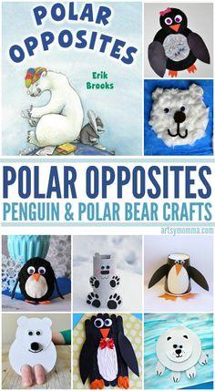 Polar Opposites: Crafty Penguins & Polar Bears