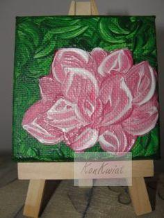 Różowy kwiat dla Izy (mikroblejtram)