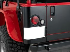 Warrior Products Rear LED Corners for 97-06 Jeep® Wrangler TJ
