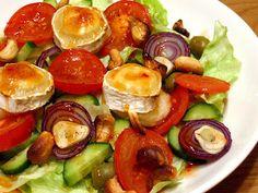 Pirun hyvä vuohenjuustosalaatti #resepti