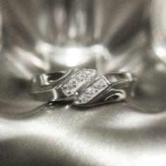 Wave wedding band #ring #wedding #weddingband #반지 #예물