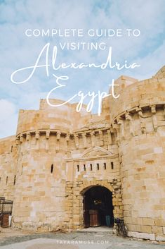 Best things to do in Alexandria Egypt - Alexandria Library, Montazah palace, navigate Alexandria streets and more! #EgyptTravel #EgyptDestinations #Africa Travel Goals, Us Travel, Travel Tips, Egypt Travel, Africa Travel, Dream Trips, Dream Vacations, Africa Destinations, Travel Destinations