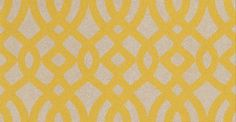 Du Barry (W6013/01) - Osborne & Little Wallpapers - An ogee trellis printed in relief with a faux flock effect. Available in 6 colourways – shown in a soft misty yellow on silver gold metallic. Please ask for sample for true colour match.
