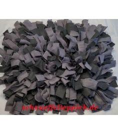 Schnüffelteppich schwarz/grau