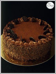 Avagy hogyan készítettem el a Dobos torta kistestvérét…      Stefánia torta.      A Stefánia torta, -  valamint a Stefánia szelet és vagda...