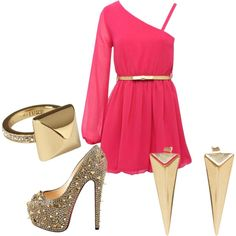"""night out"" by elisabeth-marie on Polyvore"