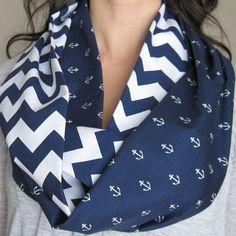 #chevron #anchor #navy blue #fashion