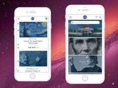 History Travel Timeline Mobile App