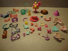 ♥ Littlest Pet Shop Lot ♥ Dress Up Accessories | eBay