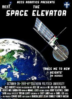 Space Elevator Poster