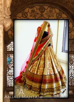My wedding outfit by Anjali Mahtani Couture :))