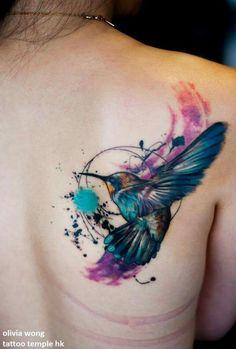 Tattoo oiseau