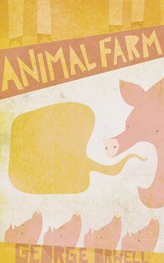Animal Farm, redesigned by Lydia Nichols
