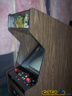 Image result for 70s 80s arcade cabinet art