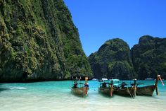 The Phi Phi Islands are located in Thailand, between the large island of Phuket and the western Andaman Sea coast of the mainland.Classic beaches, stunning rock formations, and vivid turquoise waters teeming with colourful marine life – it's paradise perfected.