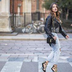 #shop the look  http://ift.tt/1PpLEAH  #FASHNATIC #Blogger @arminaarmi  #fashion #fashionblogger #style #yvessaintlaurent #streetwear #streetstyle #bag #outfit #denim #shopping #potd #lipstick #fashiongram #happy #hair #instafashion #stylish #fashionista #leatherjacket #girls #leather #shoes #highheels #model #lotd #look #arminaarmi #shoes