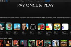 HALLELUJAH!  iTunes Pay Once and Play lists all of the best games without in-app purchases
